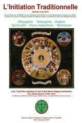 Revue L'Initiation Traditionnelle, numéro 2 de 2016