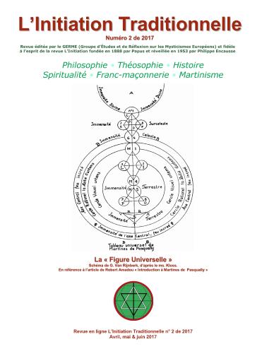 Revue L'Initiation Traditionnelle, numéro 2 de 2017