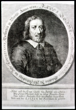 Portrait de Jacob Boehme