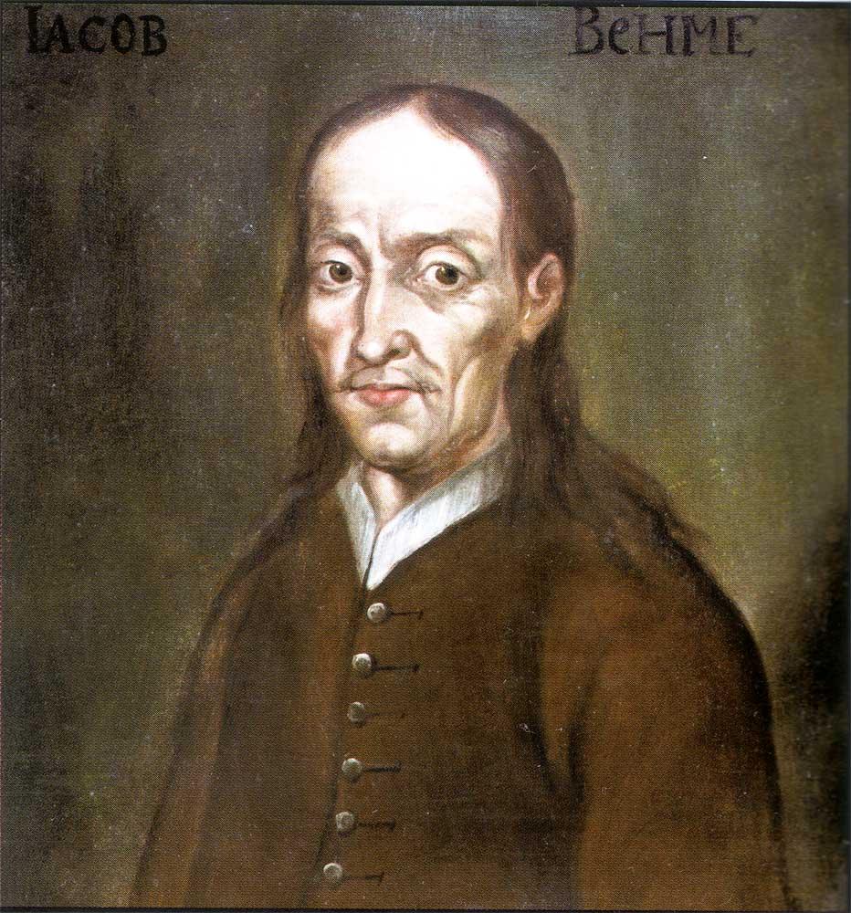 Portrait de Jacob Boehme