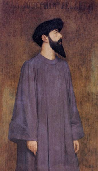 Joséphin Péladan par Alexandre Séon