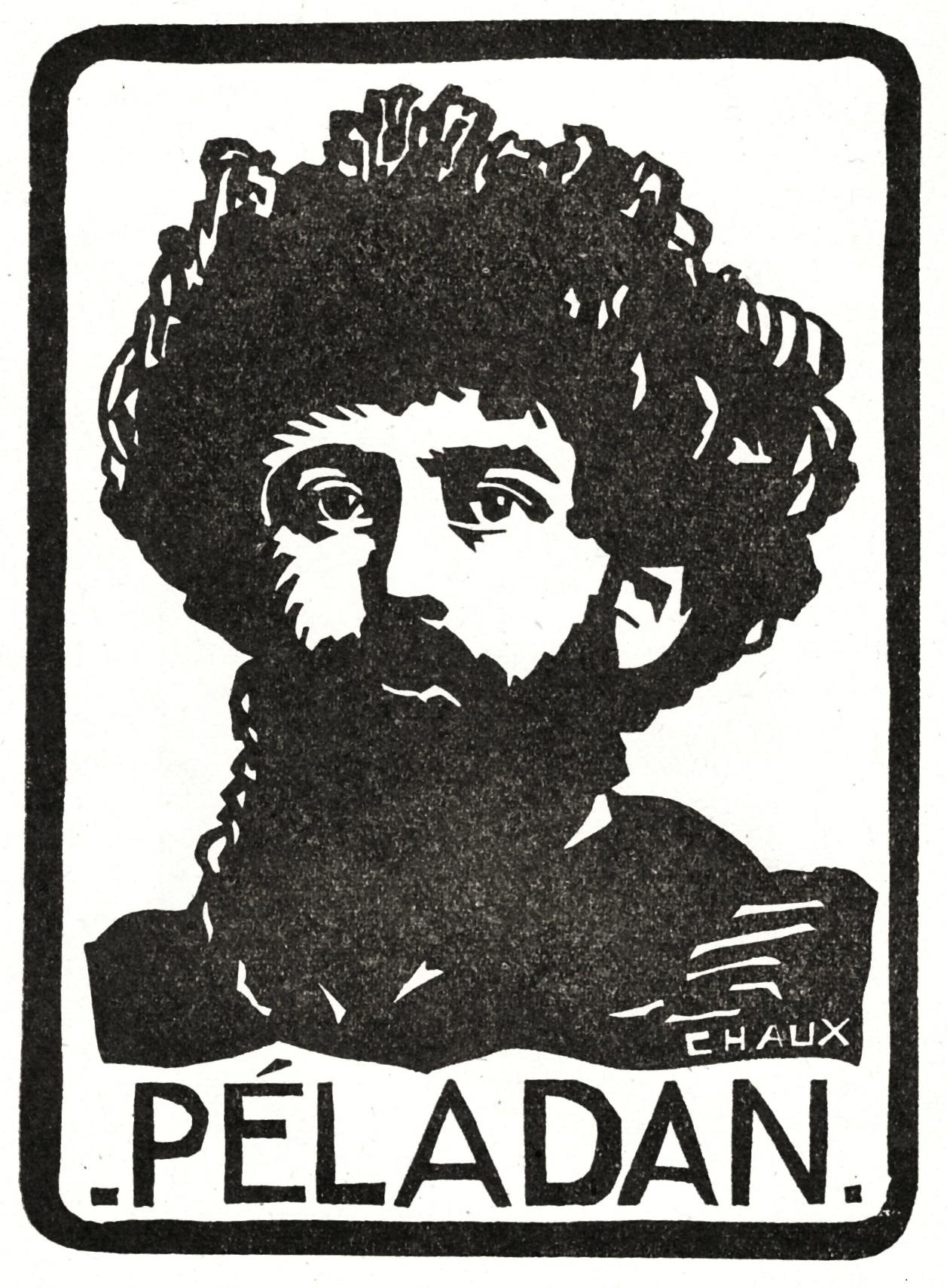 Joséphin Péladan par Pierre Chaux