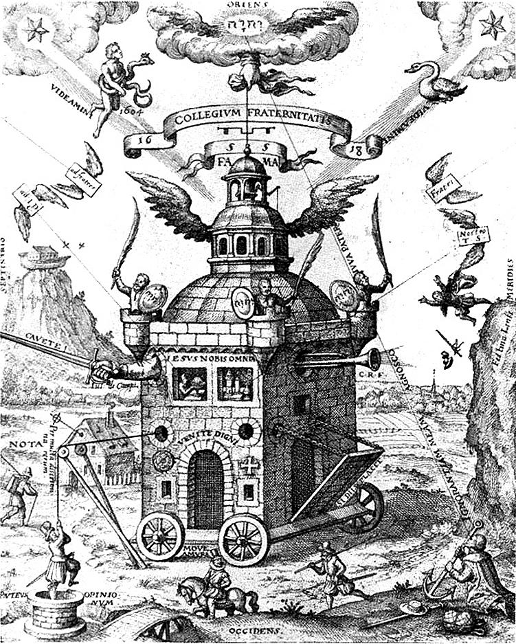 Le Temple de la Rose-Croix