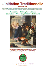 L Initiation Traditionnelle 2014 2