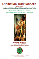 L Initiation Traditionnelle 2016 1