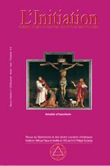 Revue L'Initiation, numéro 1 de 2009