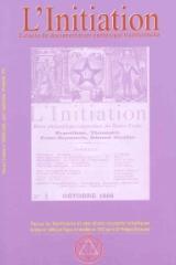 Revue L'Initiation, numéro 3 de 2008