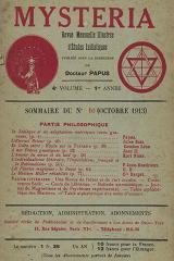 Mysteria 10 1913  240 160