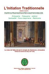 Revue L'Initiation Traditionnelle, numéro 3 de 2013