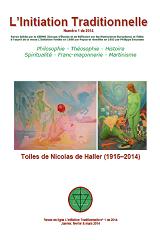 Revue L'Initiation Traditionnelle, numéro 1 de 2014