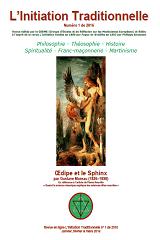 Revue L'Initiation Traditionnelle, numéro 1 de 2016