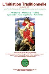 Revue L'Initiation Traditionnelle, numéro 4 de 2017