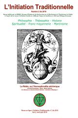 Revue L'Initiation Traditionnelle, numéro 2 de 2018