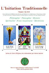 Revue L'Initiation Traditionnelle, numéro 3 de 2020