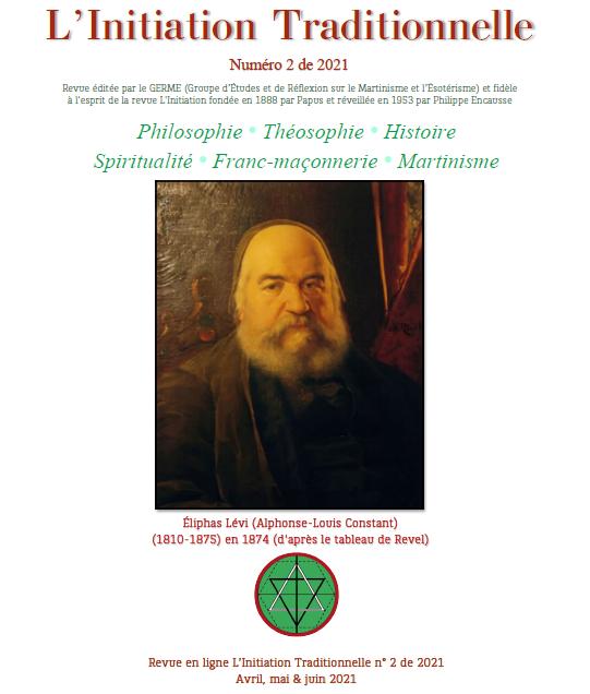 Revue L'Initiation Traditionnelle, numéro 2 de 2021