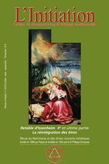 Revue L'Initiation, numéro 3 de 2010