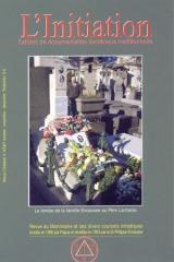 Revue L'Initiation, numéro 4 de 2007