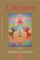 Revue L'Initiation, numéro 4 de 2009