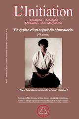 Revue L'Initiation, numéro 4 de 2012